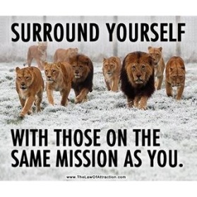 Image result for surrounding yourself with like minded individuals